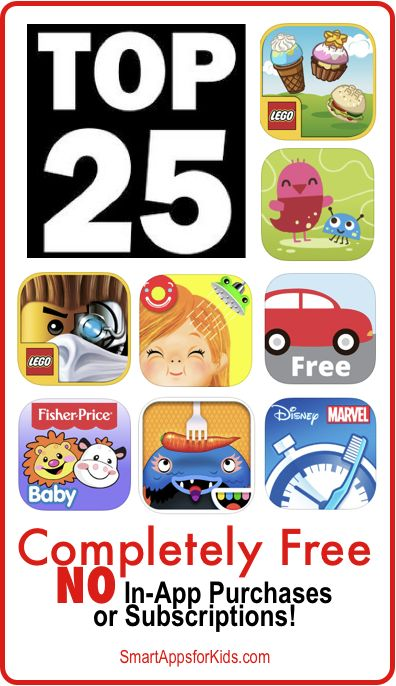 Top 25 Completely FREE apps - Kids Category! April 14, 2014 http://www.smartappsforkids.com/2014/04/top-completely-free-apps-kids-category-april-14-2014.html