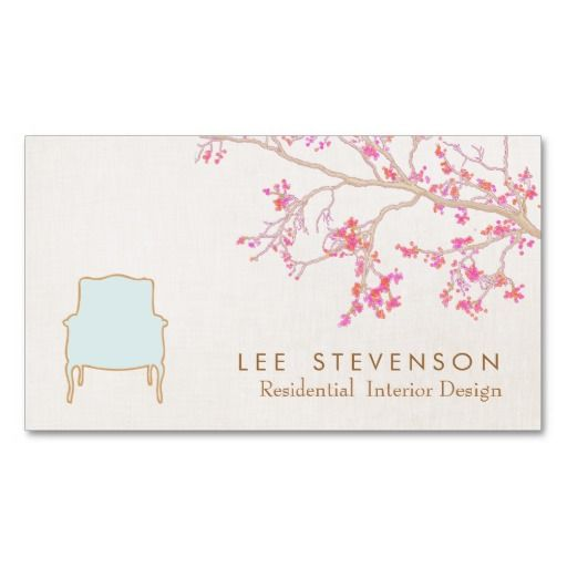 307 Best Interior Designer Business Cards Images On Pinterest