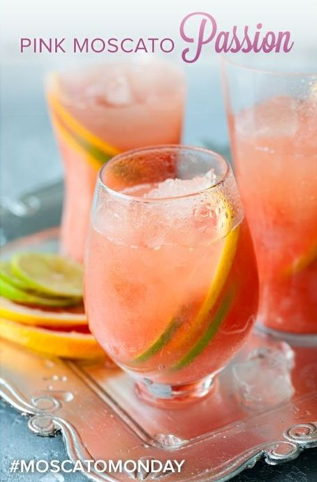 pink moscato passion drinks smoothies pinterest