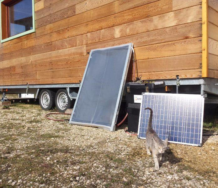 Avec ce kit, vous pourrez construire votre panneau solaire pour moins de 40€ !