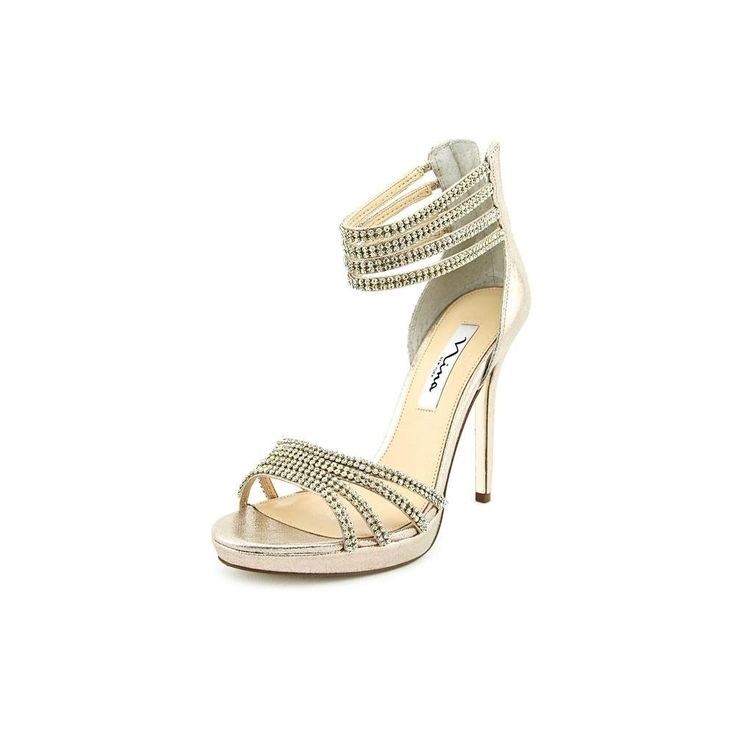 """Nina Women's Fergie,Taupe Suede,US 11 M. Heel Height: 3 3/4"""". Origin: Imported. Fit: True to Size. Outsole: Leather. Upper: Suede."""