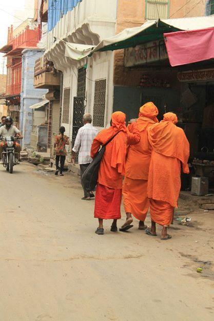 Saffron Monks  Jaipur, India 2012