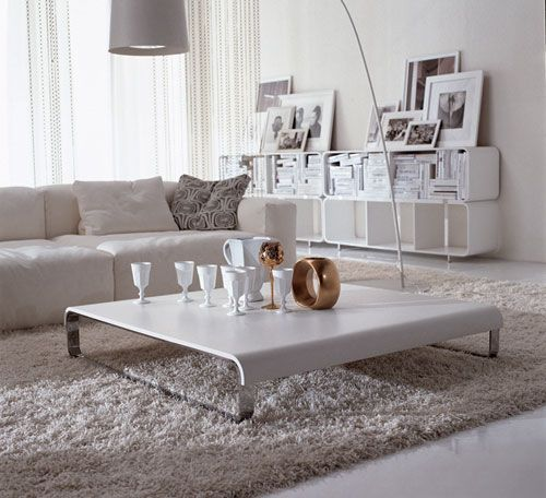 Love The Coffee Table And Sofa Low Tablewhite