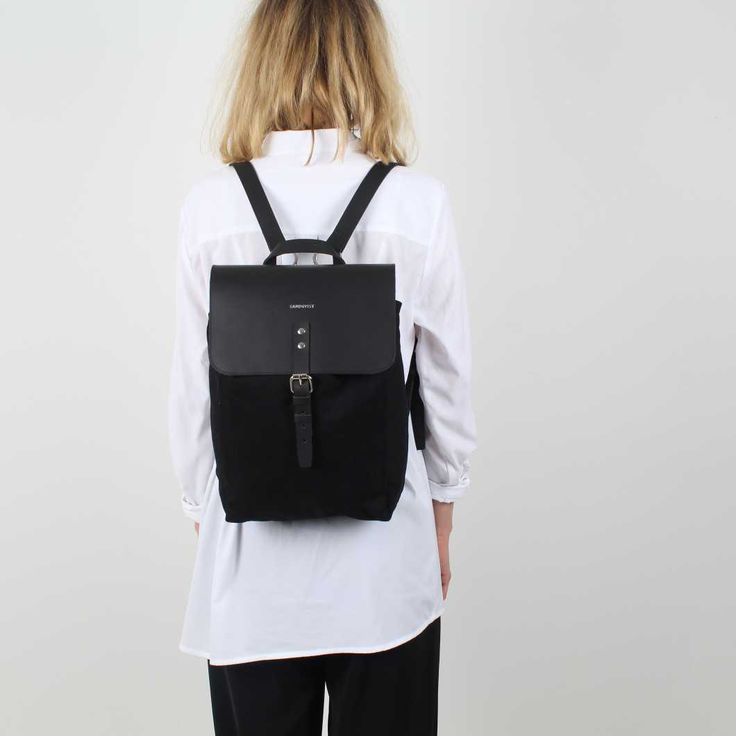 Sandqvist Alva Black backpack