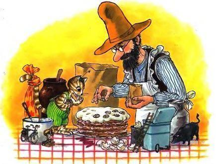 Петсон и Финдус: Именинный пирог (рассказ)