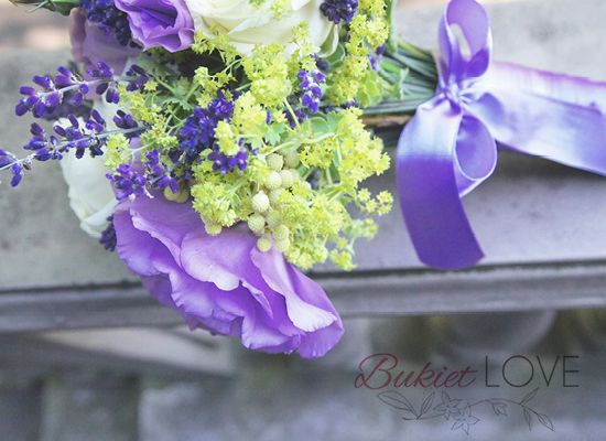 BukietLOVE kwiaty na ślub, lawenda