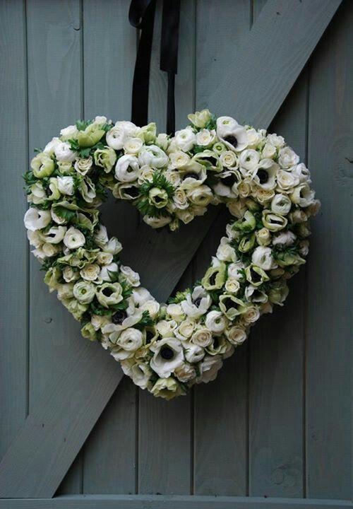 Flower heart Corazon de flores Cor de flors