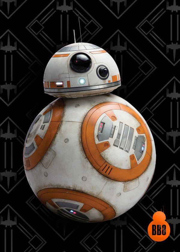 Official Star Wars Bb 8 Astromech Droid Bb 8 Robot Displate Artwork By Artist Star Wars Part Of A Set Fea Star Wars Bb8 Star Wars Prints Star Wars Pictures