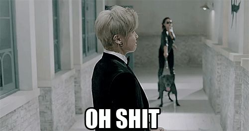 Block B Ukwon, this part of the MV had me cracking XD