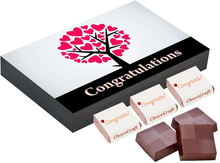 congratulations gifts for her | Chocolate box