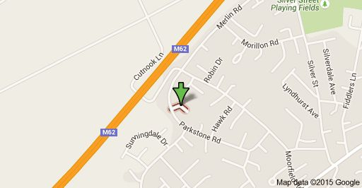 Map of Kestrel Dr, Irlam, Manchester M44 6LX