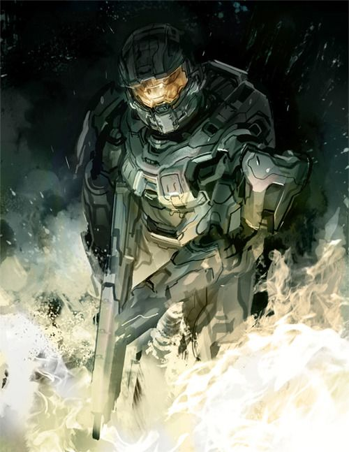Return of Master Chief by Gabriel Garza