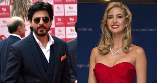 Shah Rukh Khan to share stage with Donald Trumps daughter Ivanka at Hyderabad! Check deets
