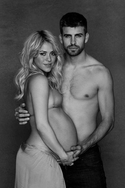 Shakira et Gérard Piqué