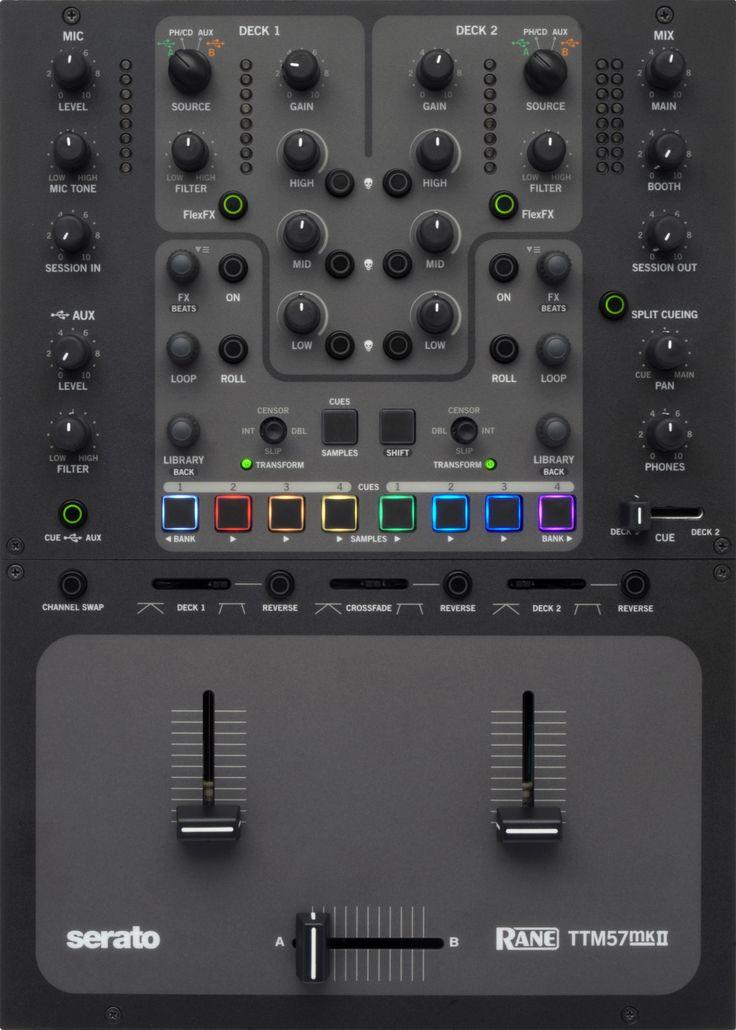 Introducing the New Rane TTM57mkII for Serato DJ | Rane DJ