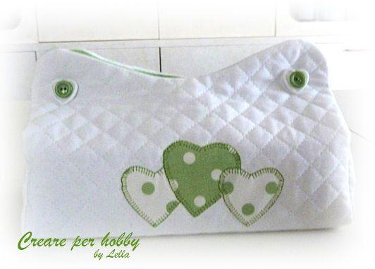 Creare per Hobby: Cucito creativo: portacleenex in tessuto