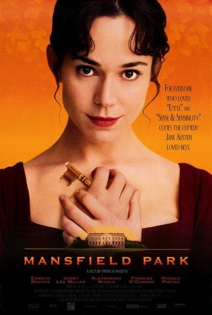 Mansfield Park - Jane Austen. Sooo goodFilm, Periodic Dramas, Parks 1999, Fanny Price, Book, Jane Austen, Favorite Movie, Mansfield Parks