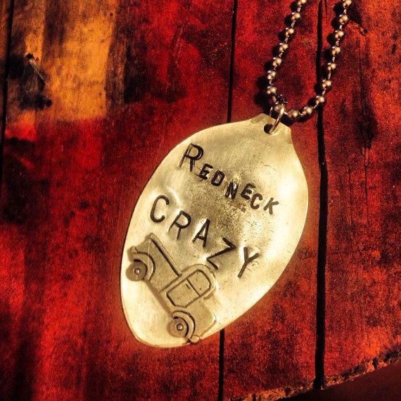 Redneck crazy vintage spoon necklace