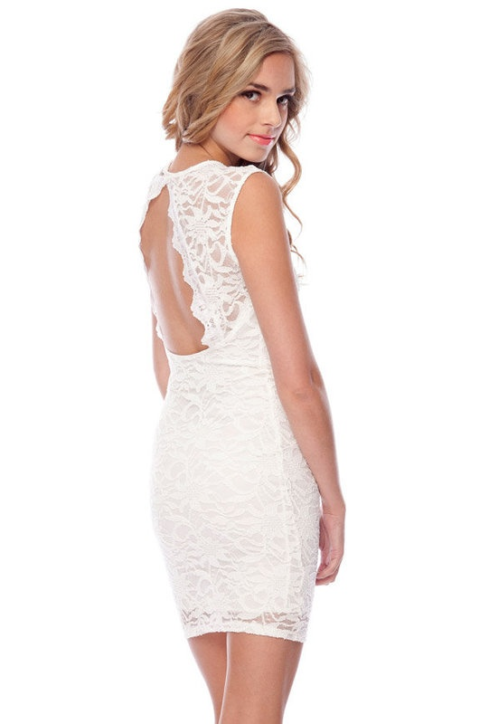 Looove the open back!