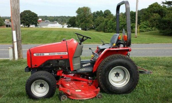 Free Massey Ferguson 1225 Compact Tractor Service Repair Manual Repair Manuals Compact Tractors Repair