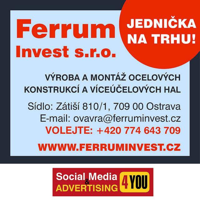 Ferrum Invest s.r.o. - Česky Trucker - advertising magazine #FERRUMINVEST #CESKYTRUCKER #ocelovékonstrukce #montovanéhaly