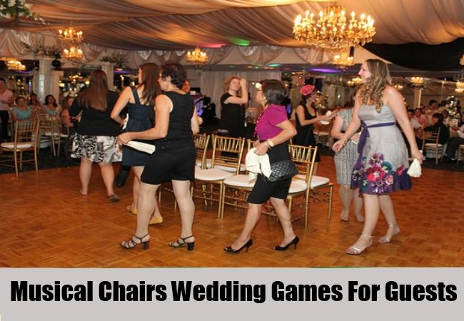 Musical Chairs Wedding Games For Guests