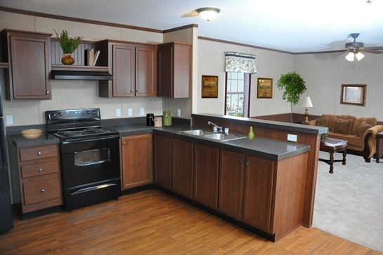 Mobile home kitchen green acres mobile homes inc for Mobile home kitchen designs and ideas