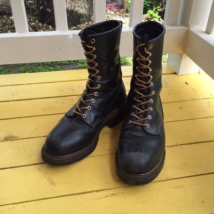 best 10 wing logger boots ideas on