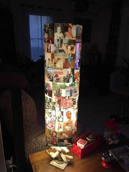 Colonne de lumière Peli-Melo en 80cm