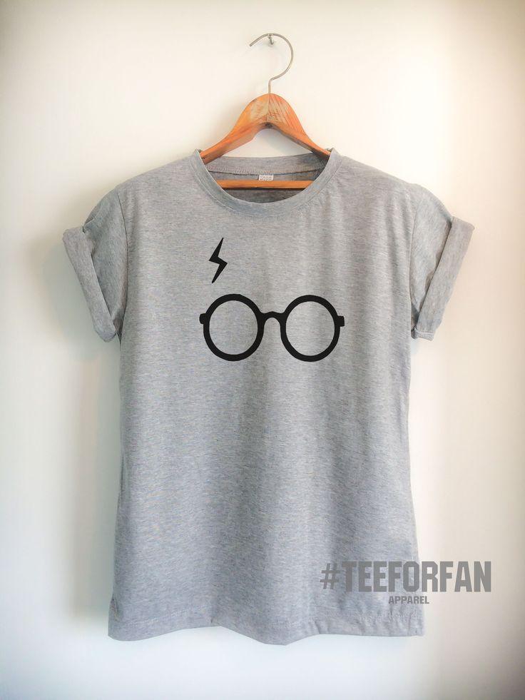 Harry Potter Shirt Harry Glasses And Lightening Scar T-Shirt