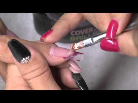 Nails Premier 2015 ősz - Csiszológép használat, expressz töltés a szalonmunka idejének csökkentésére - YouTube