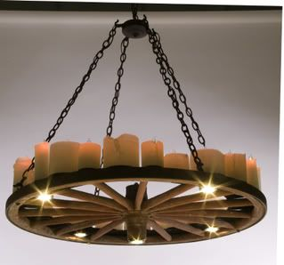 Chandelier Revamp More · Wagon Wheel ...