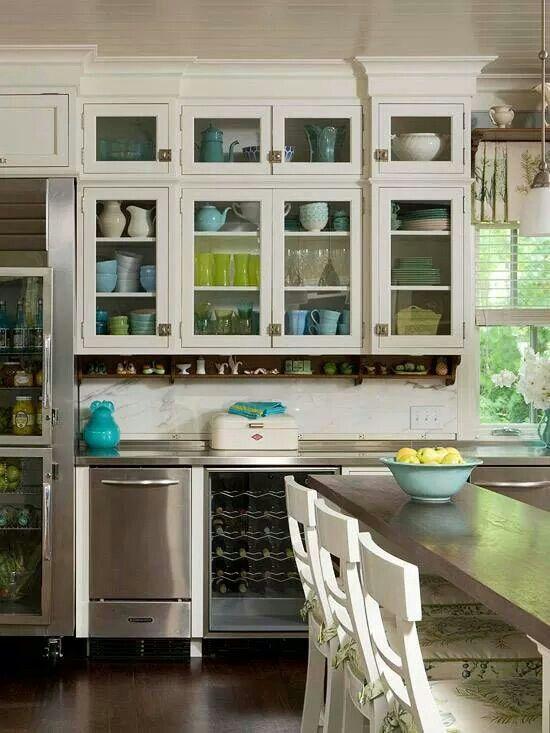 Die besten 25+ Glasfront kühlschrank Ideen auf Pinterest Glastür - küchenschrank mit glastüren