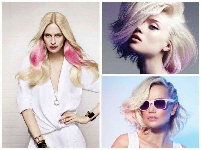 Колорирование на светлые волосы: фото