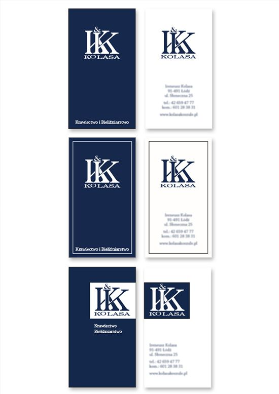 K.Kolasa, business card  #bussinesscard #design #logo