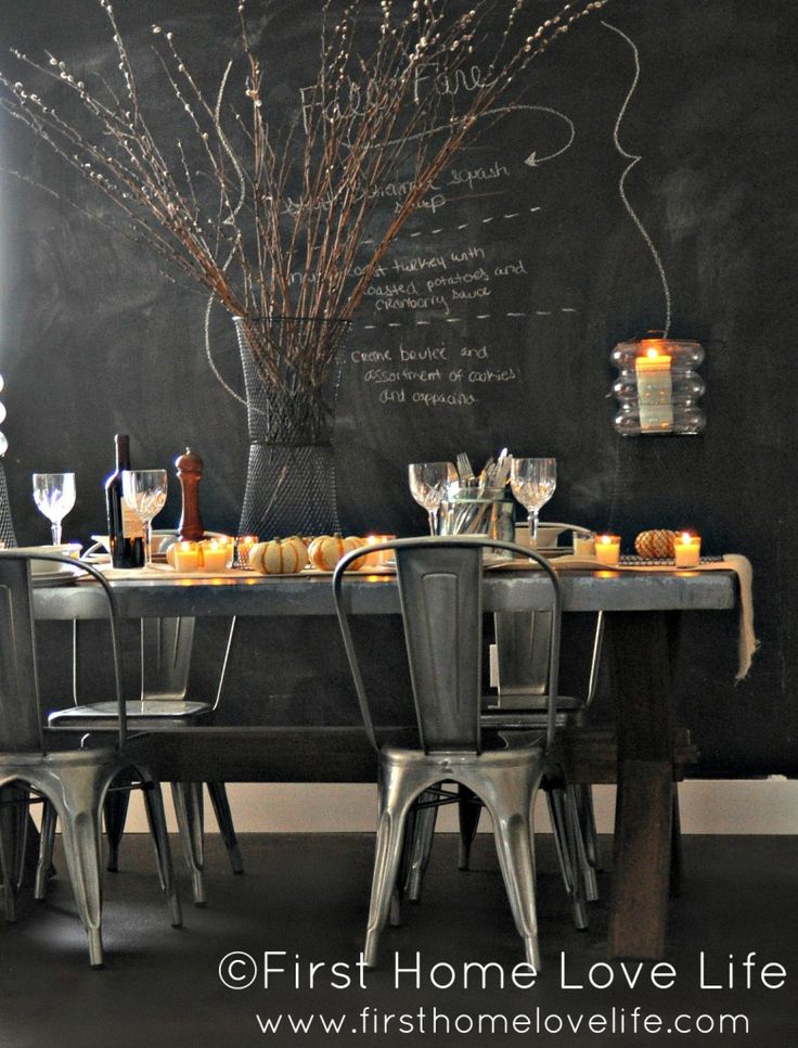 192 best chalkboard wall images on pinterest | home, blackboard