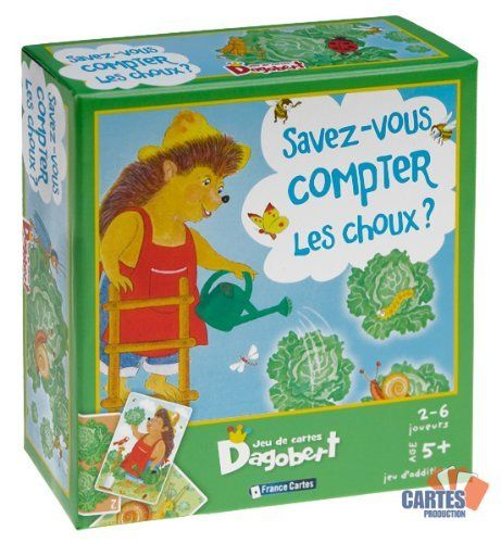 Jeu de 36 cartes : Dagobert Savez-vous compter les choux ? Cartes Production / Poker Production http://www.amazon.fr/dp/B003DJNK9S/ref=cm_sw_r_pi_dp_4cX9ub0EHCBQ9