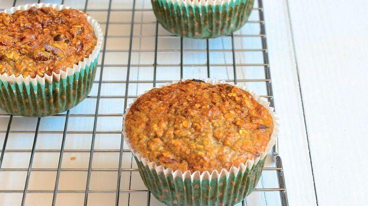 Ontbijtmuffins (sojamelk/havermout)