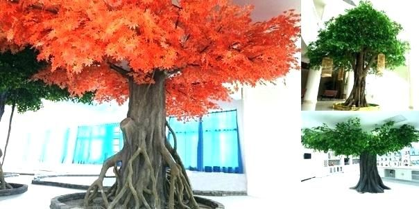 Fake Bonsai Tree Large Artificial Trees In Pots Sale For Garden Statue Molds Garden Statues Potted Trees