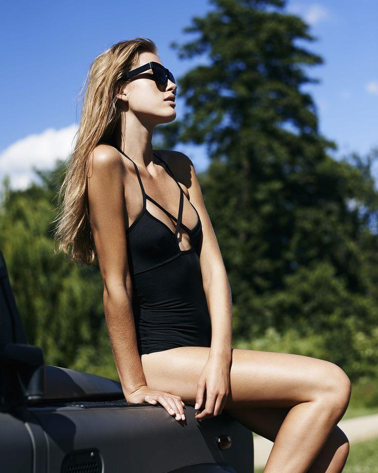 Lulu Swimsuit, SS15, Underprotection, sustainable fashion, beachwear, swimsuit, black, summer