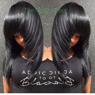 Take it back Tuesday!!!.... Full sew in NO LEAVE OUT with layers and flow to go!!! This is The Rose Affect. Get Pricked by A Rose. Have you booked yet?? TEXT 4044513324. Deposit is a must. C u soon!! #weavemaster #razorcut #thejspot #instaglam #prettyhair #photooftheday #atlhair #atlstylist #atlsewins #sewin #dopehair #fashionstyle #pleasureprinciple #janetjackson #hairlife #hair #hairatl #hairinspo #layers #bestofthebest #bestoftheday #prickedbyarose #theroseaffect