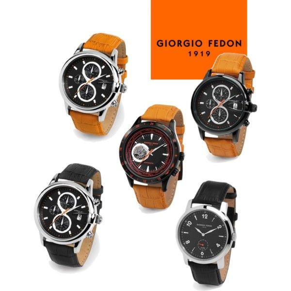 Giorgio Fedon 1919 Leather Watch Collection