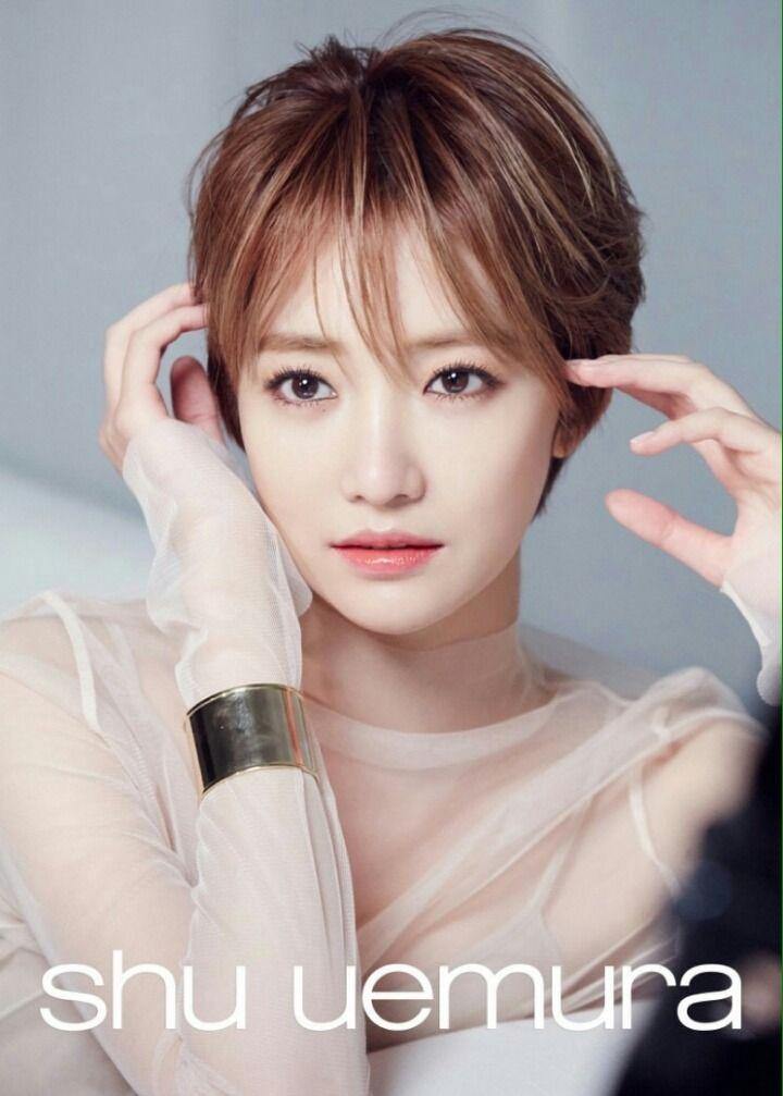 Go JoonHee #고준희 (Kim EunJoo 김은주) for Shu Uemura CF #단발머리 #여배우