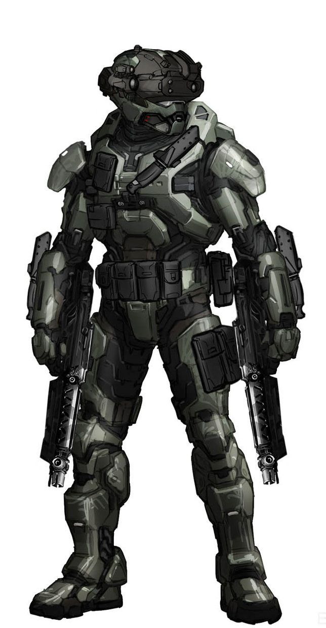 My Personal Halo Armor by Pickle-Soup