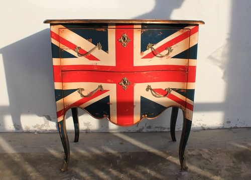 union jack: Paintings Dressers, Boys Rooms, Unionjack, British Style, London Style, London Call, Jack O'Connel, Union Jack Dressers, Chest Of Drawers