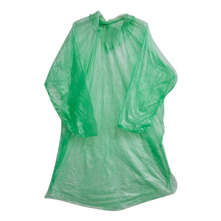 Practical 10 pcs Poncho Raincoat,Disposable Outdoor Emergency Rain Cover Jacket For Theme Parks