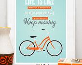 Quote print  poster, Inspirational quote , quote wall art,  Vintage trailer, Shasta, retro poster, Home is wherever Im with you  A3. $22,00, via Etsy.