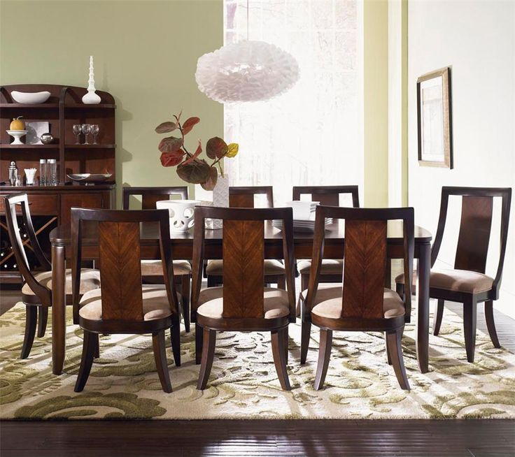 Boulevard Formal Dining Table And Chair Set By Legacy Classic