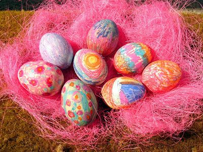 vosková vajíčka