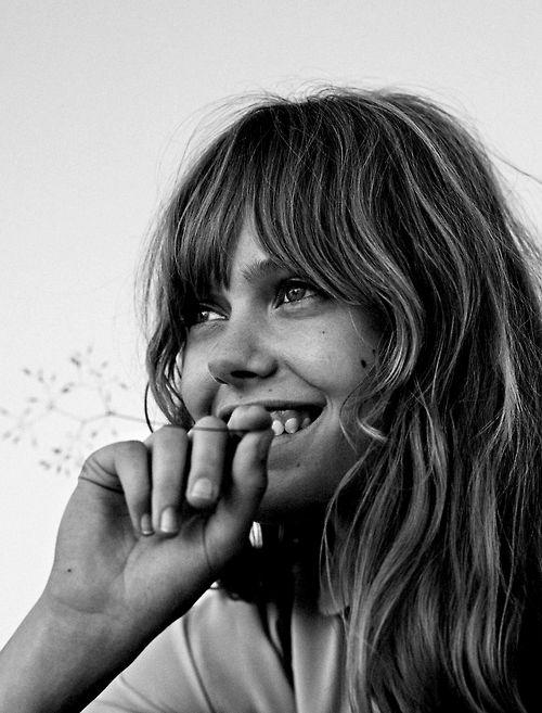 Frida Gustavsson by Stefan Heinrichs for Glamour Paris, October 2014